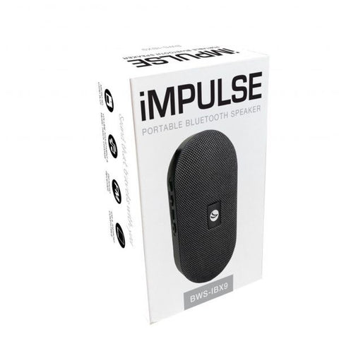 Impulse Portable Bluetooth Speaker Black