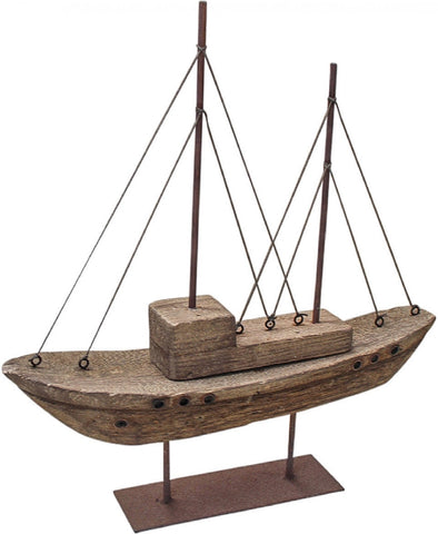 Boat Rustic Timber Finish