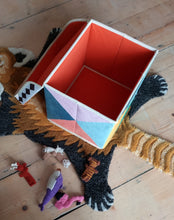 Flat pack toy box