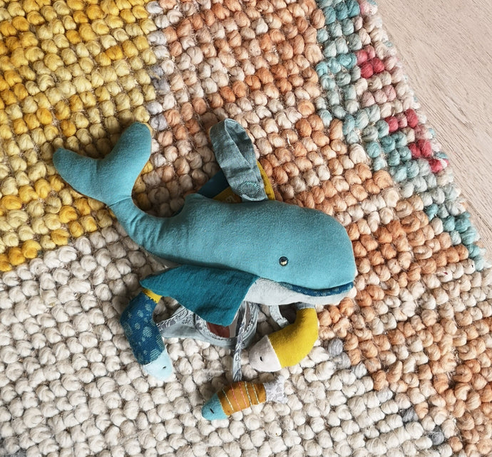 Whale activity toy