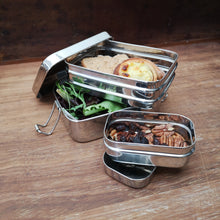 Two tier lunch box with mini container - Panna