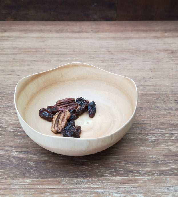 Mini mango wood bowl