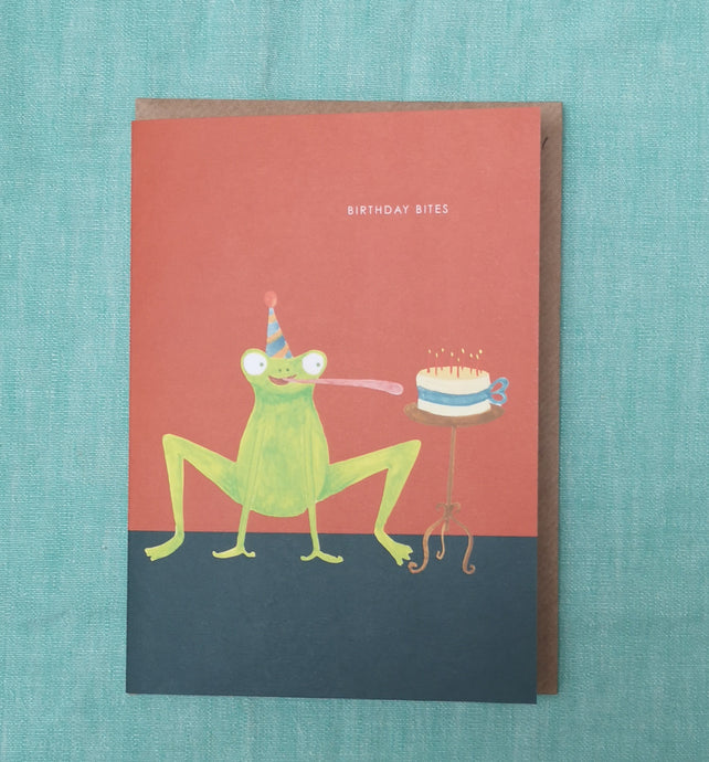 Birthday bites card