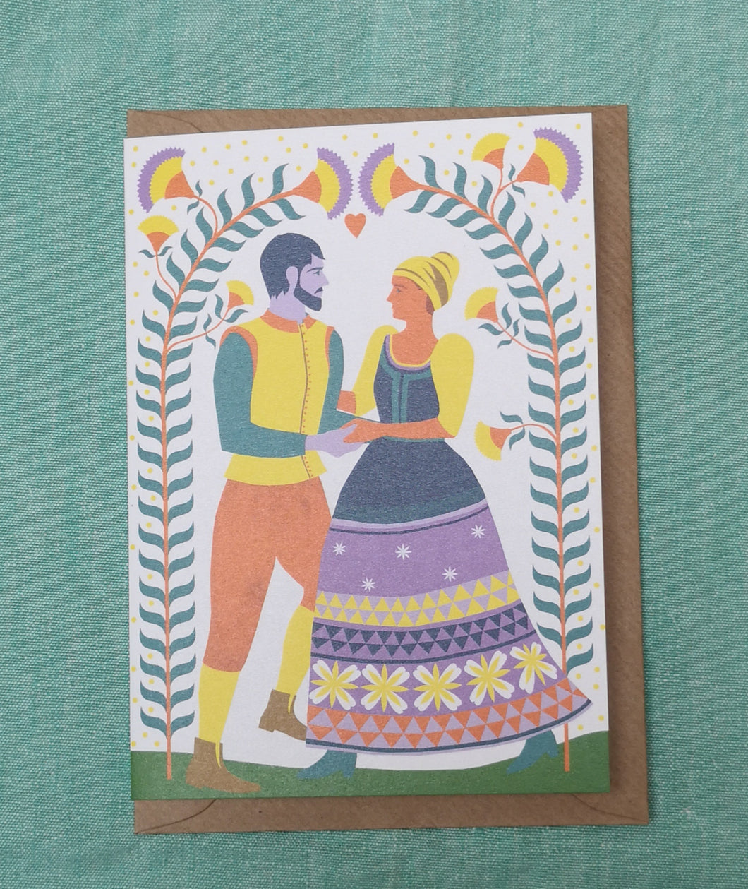 May day card