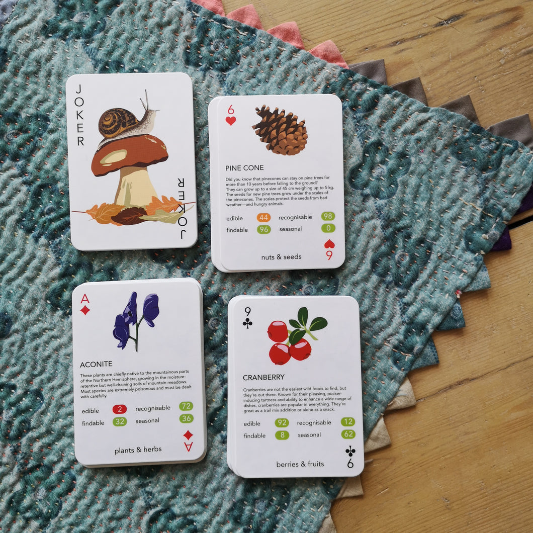 Foraging cards