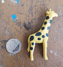 Mini wooden wild animals