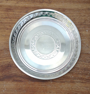 Stainless steel cake tray