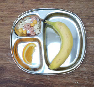 Stainless steel thali plate