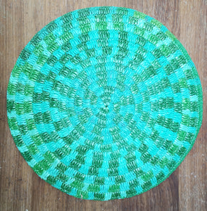 Large recycled place mat