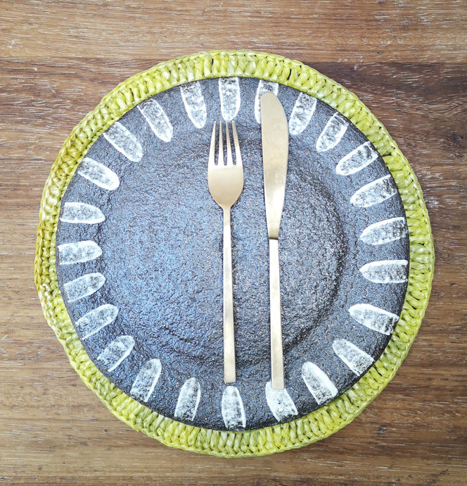 Recycled place mat