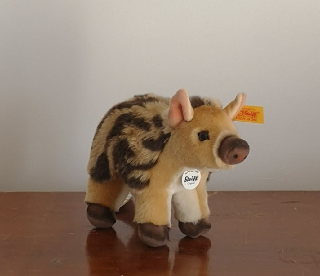 Wild boar cuddly toy