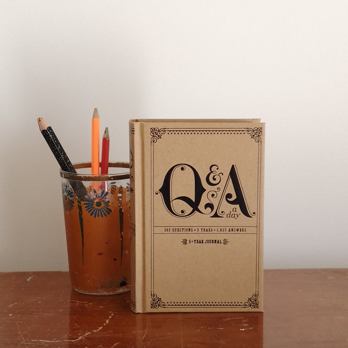 Q & A a 5 year journal