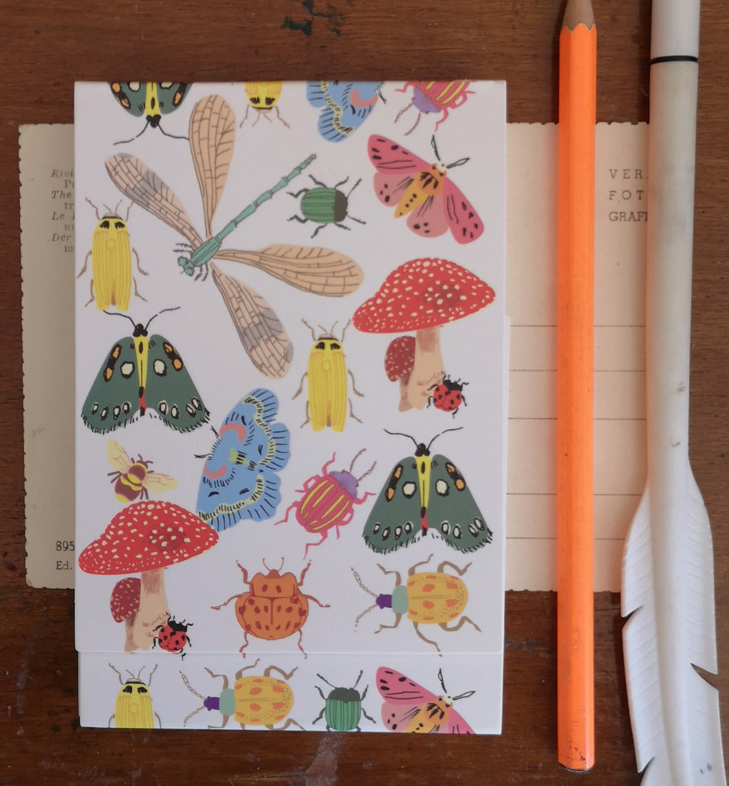 Bug note pad