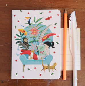 Note book and stickers