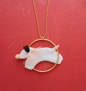 Circus dog necklace