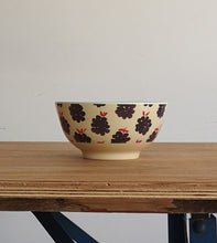 Large melamine bowl.
