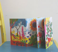 Concertina postcards