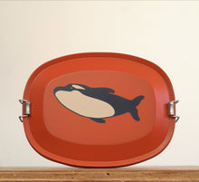 Animal stainless steel lunch box