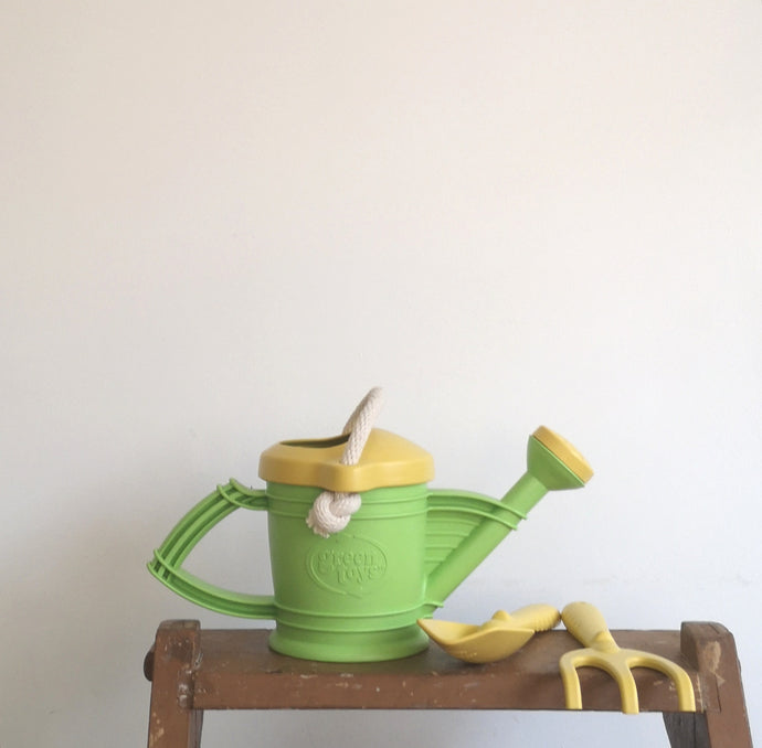 Watering can and tools