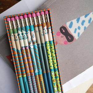 People pencils