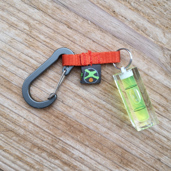 Mini spirit level pendant