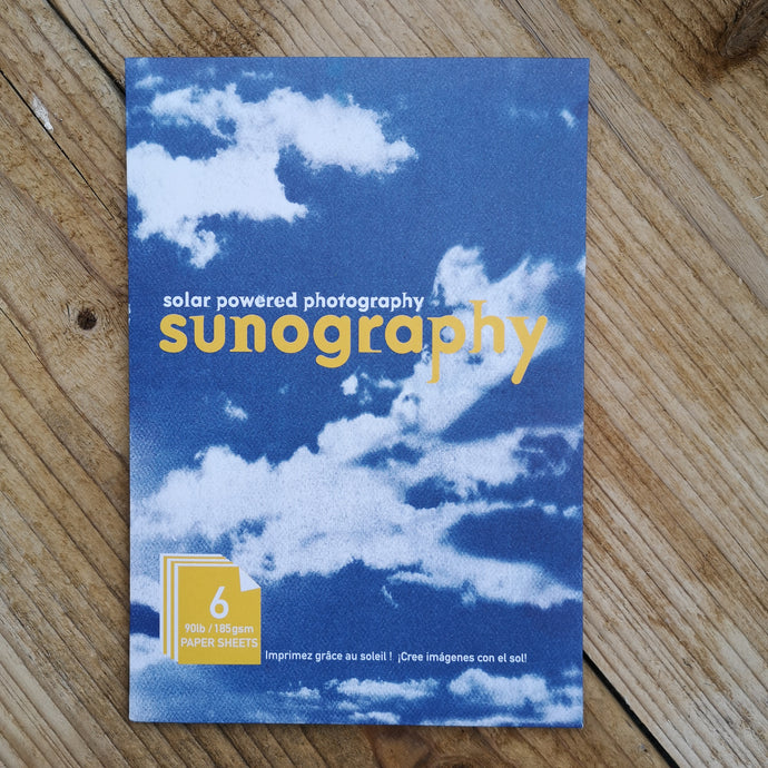 Sunography paper sheets
