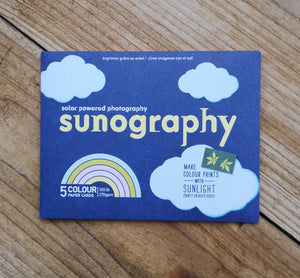 5 colour sunography cards