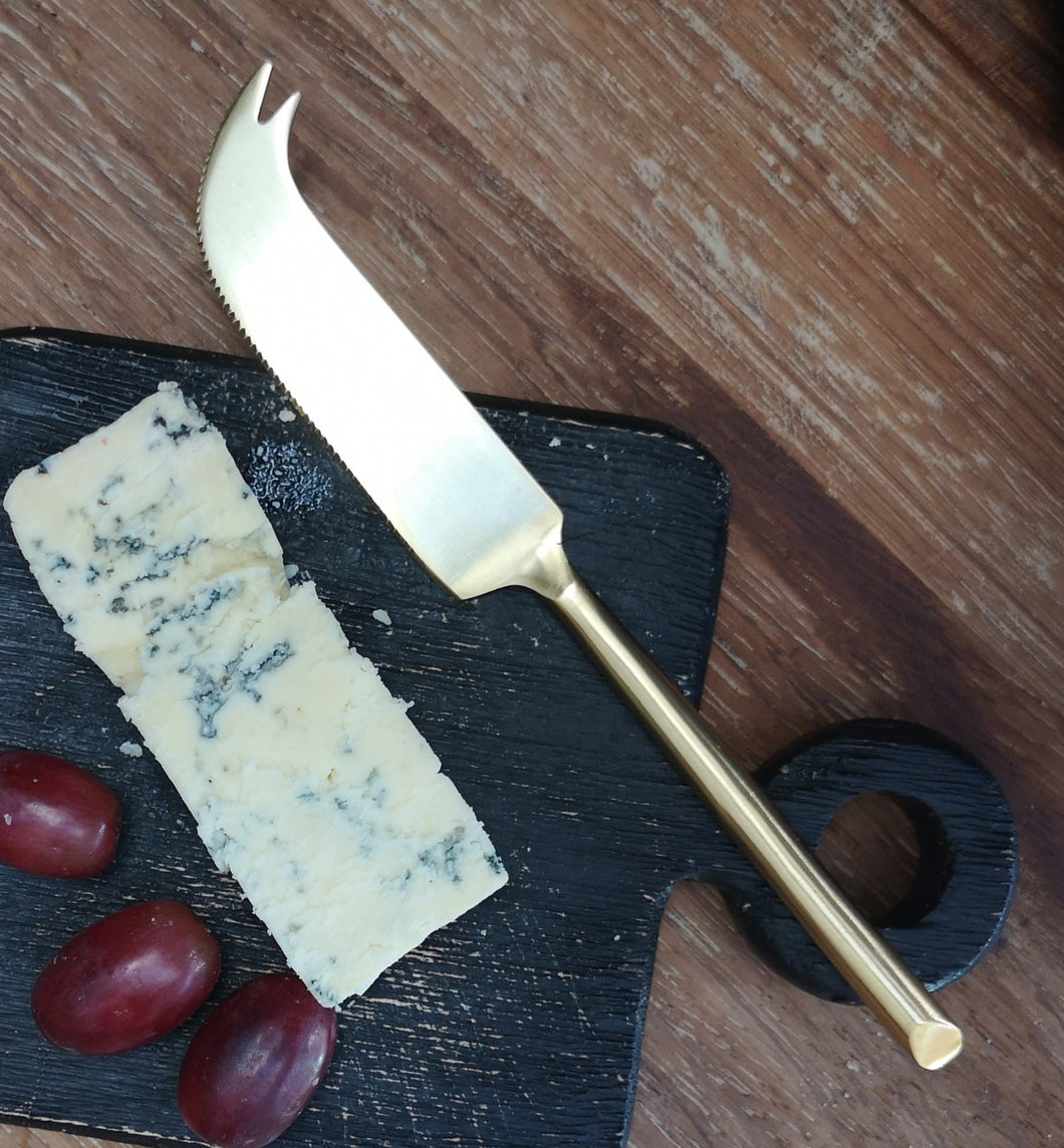 Gold cheese knife