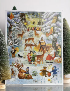 Traditional advent calendar