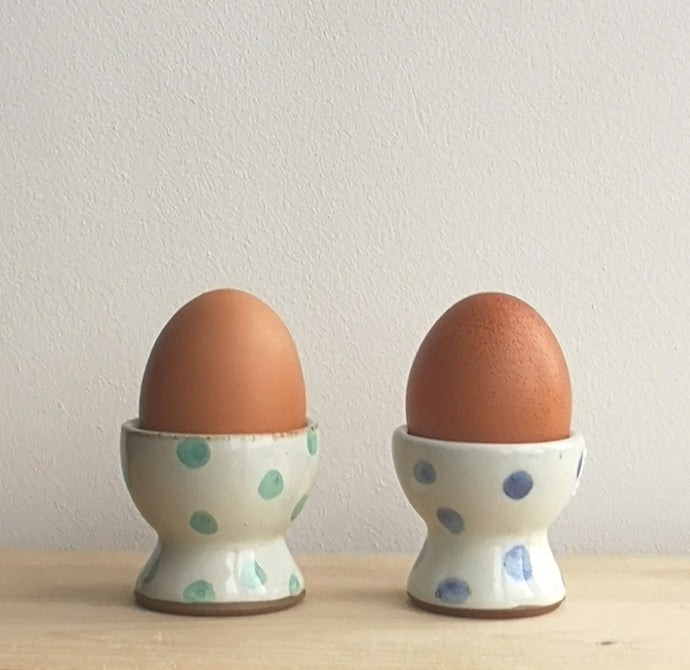 Hand thrown egg cups