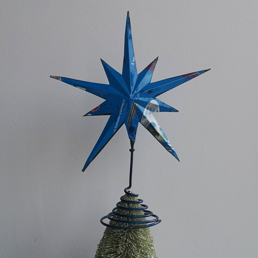 Recycled tree topper