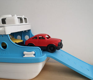 Ferryboat and 2 cars