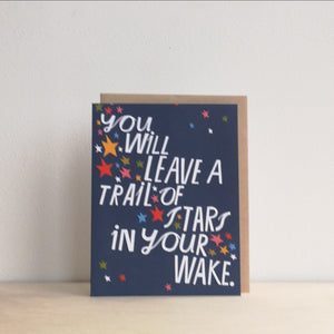 You will leave stars card