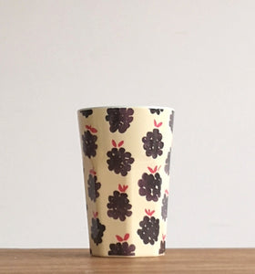 Black berry melamine cup