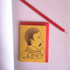 Love man mini card