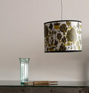 Green pruning lamp shade