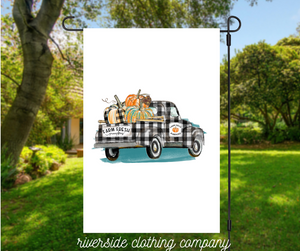 Buffalo Plaid Truck Flag