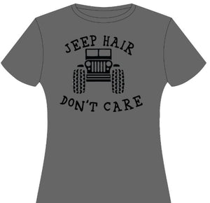 Jeep Hair Don't Care Tee