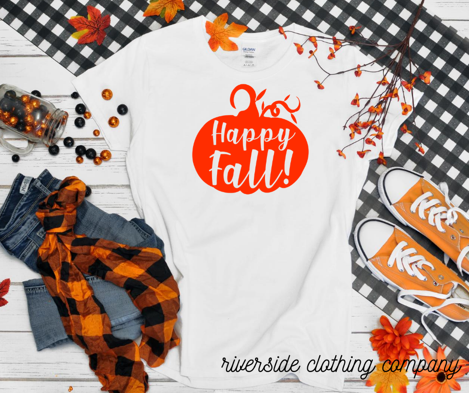 Happy Fall Pumpkin Tee