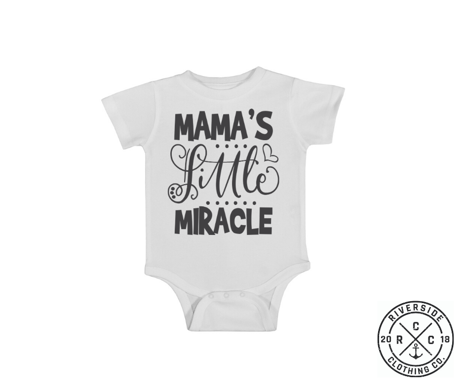 Mama's Little Miracle Onesie