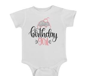 Birthday Girl Onesie