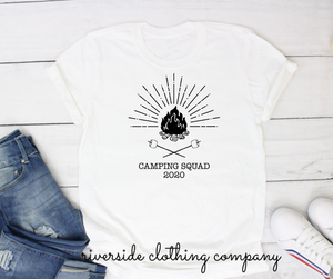 Camping Squad 2020 Tee