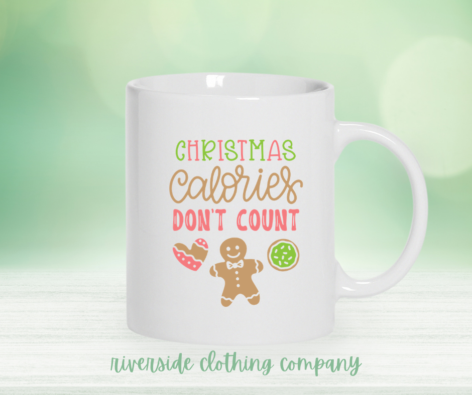 Christmas Calories Don't Count Mug