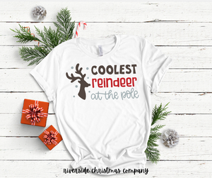 Coolest Reindeer at the Pole