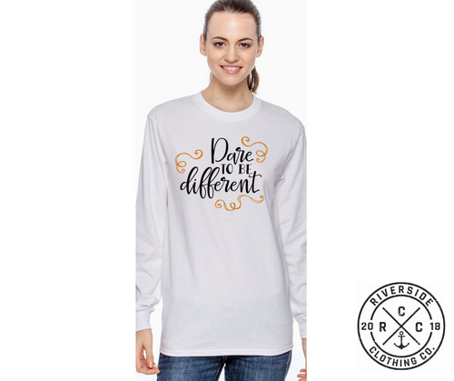 Dare to be Different Long Sleeve Tee