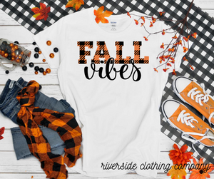 Fall Vibes Short Sleeve Tee