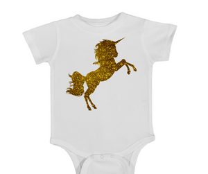 Gold Unicorn Onesie