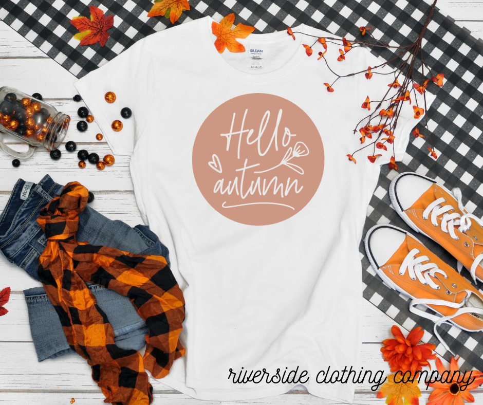 Hello Autumn Tee