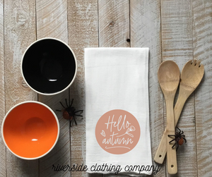 Hello Autumn Hand Towel