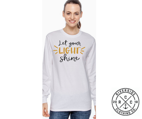 Let Your Light Shine Long Sleeve Tee